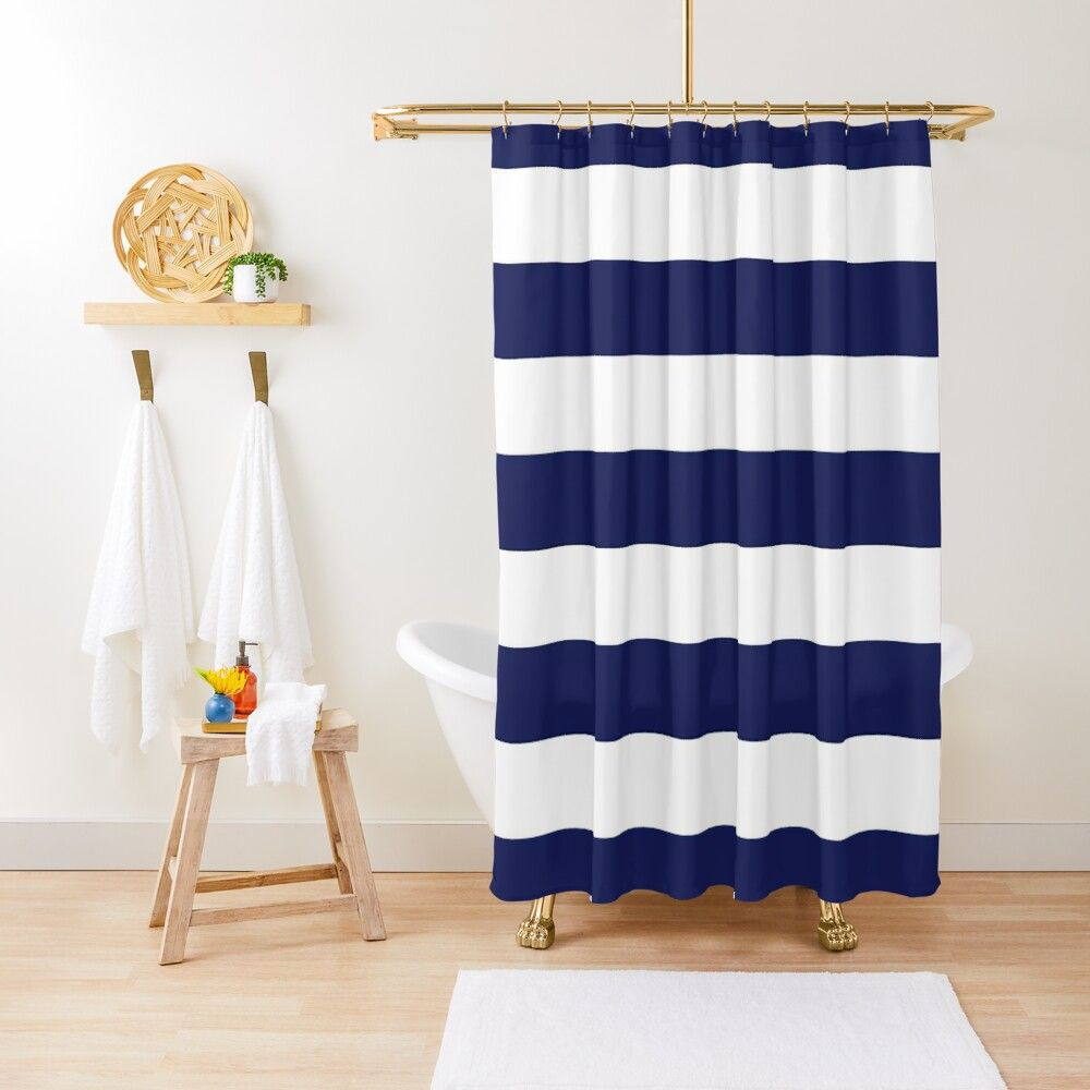 Stripe Shower Curtain Striped Shower Curtains Plaid Shower