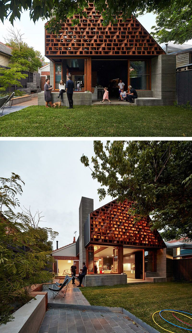 MAKE Architecture Have Designed A Home In Melbourne, Australia, That Was  Given An Extension