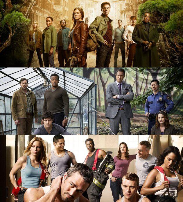 NBC renouvelle Parenthood, Revolution, Grimm, Chicago Fire et Law & Order: SVU   TVQC