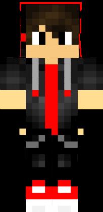Skin Cool Boy Red Youtuber Nova Skin Minecraft Skins Cool Minecraft Cool Stuff