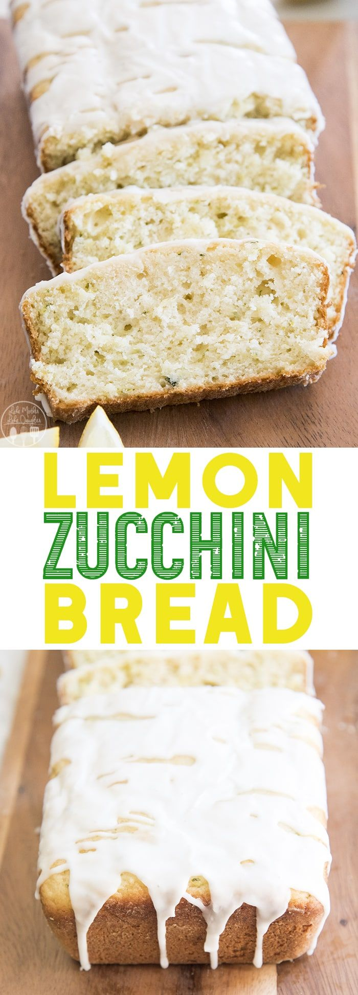 lemon zucchini bread is the perfect twist on traditional