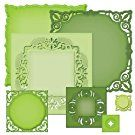 Spellbinders S4-389 Majestic Elements Nestabilities Adorning Squares Die Templates