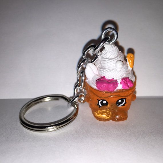 Shopkins Foodie Keychain   Yo Chi   Repurposed Toys