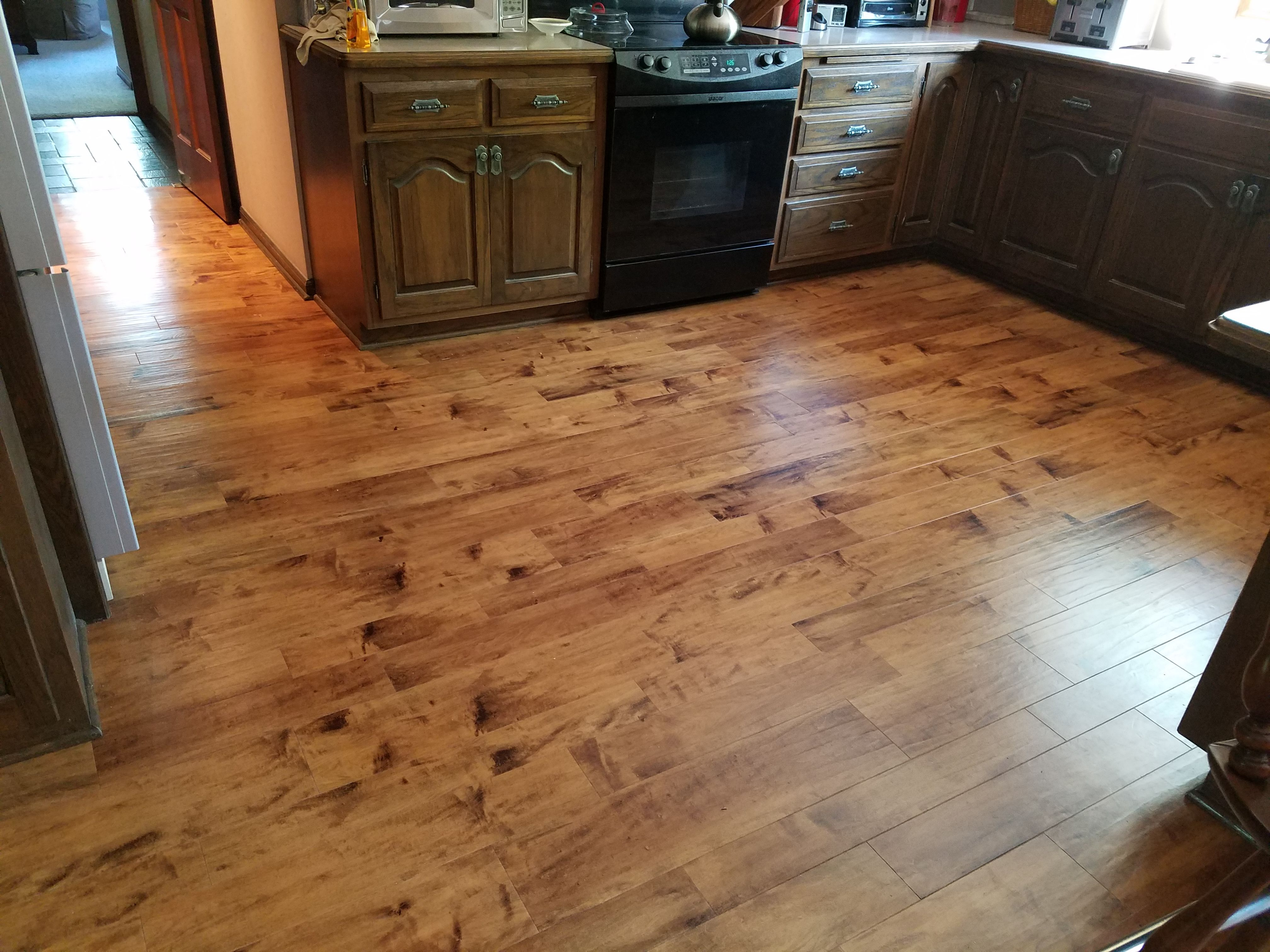 Kardean Luxury Vinyl Plank Toasted Almond Color Welcome To Floor