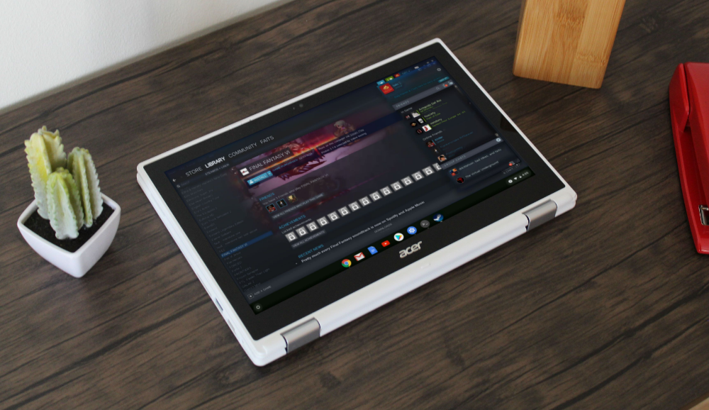 Want to Game on Your Chromebook? Try Installing Steam for