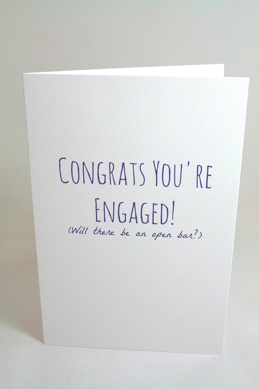 Funny Engagement Card Shoptiques Boutique Products Pinterest