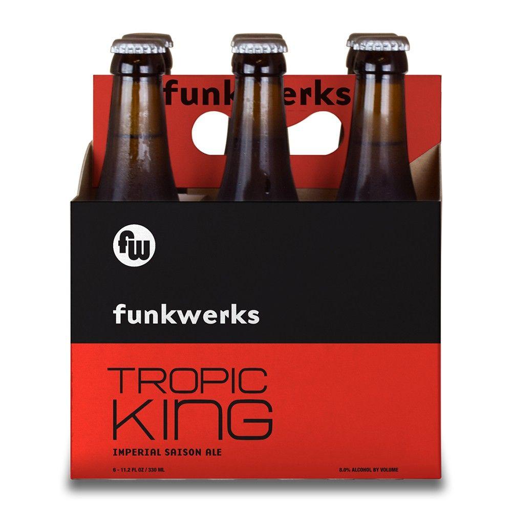 Funkwerks Tropic King Imperial Saison Ale Beer 6pk 12 Fl Oz Bottles Ale Beer Unique Beers Beer