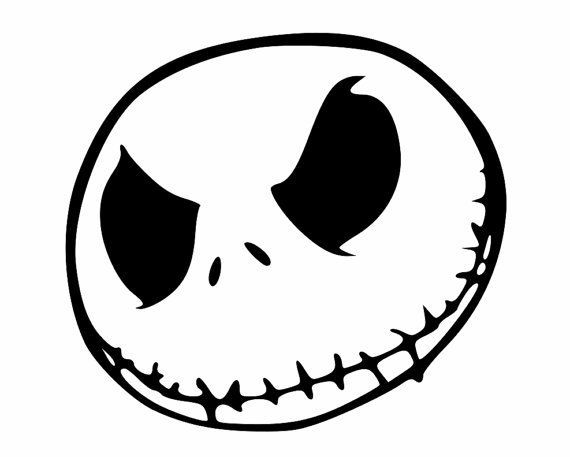 Jack Skellington Custom Decals For Your Cell Phone Laptop Decals - Custom windo decals for jeeps