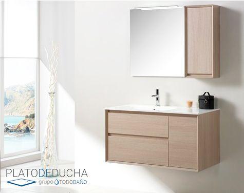 Mueble de Baño Tebas VII. Acabado en Diseño Natural con un toque cálido. 2 4c0840f155ee