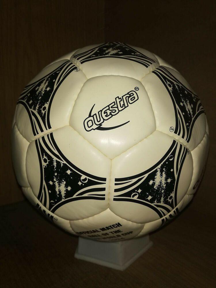 Adidas Questra Football Soccer Ball No 5 Fifa World Cup Match Ball 1994 Rempo 2020 World Cup Match Football Soccer Soccer Ball