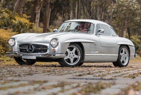 The Sultan of Brunei's AMG Mercedes 300SL Gullwing is the Ultimate Sleeper Hot Rod - Thrillist