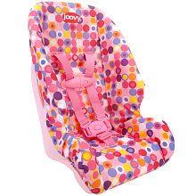 joovy toy booster seat pink dot hailey pinterest puppen und zubeh r. Black Bedroom Furniture Sets. Home Design Ideas