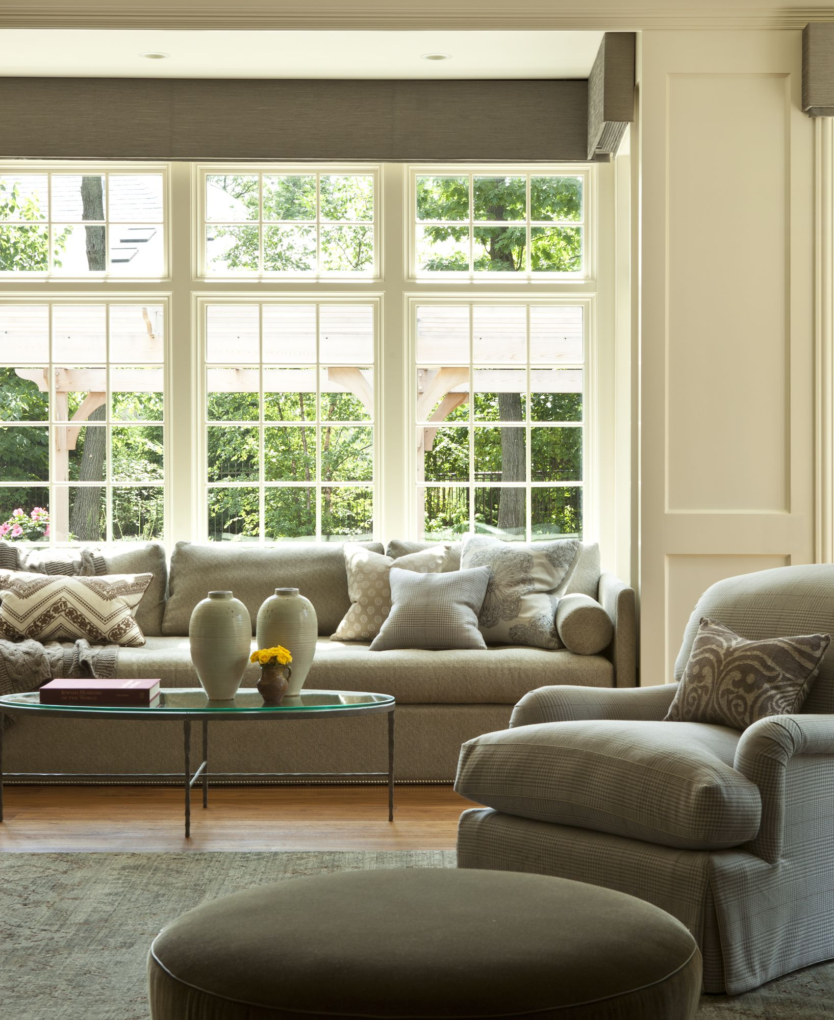 A Sunny Family Room Designed By Marshall Erb Design Welcomes In