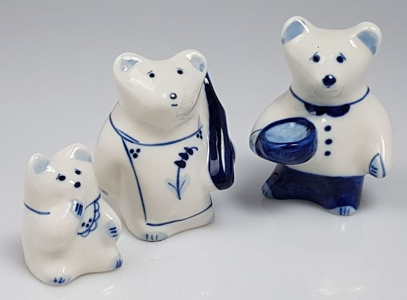 Rosja Figurka Mis Komplet Biala Porcelana Kobalt 7175776254 Oficjalne Archiwum Allegro Piggy Piggy Bank