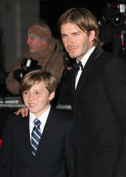David Beckhams new hairstyle