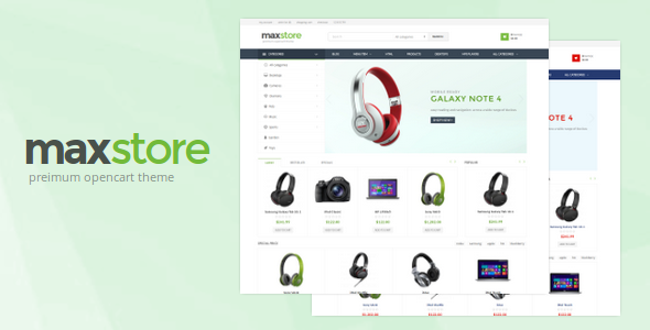 Maxstore Opencart Theme by nicole_89 Maxstore is a