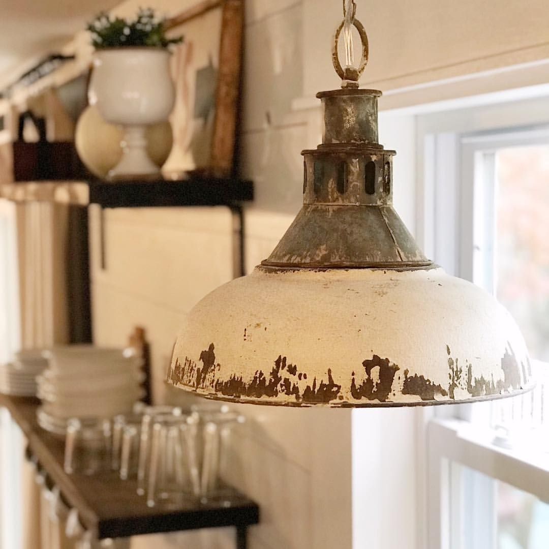 Farmhouse Pendant Light For The Kitchen Antique Farmhouse Rustic