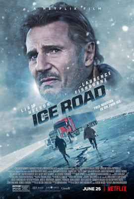 The Ice Road 2021 Trailer Clips Images And Posters In 2021 Liam Neeson Free Tv Shows Streaming Movies
