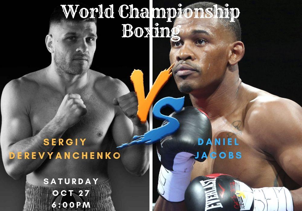 WorldChampionshipBoxing WorldChampionship Boxing Daniel
