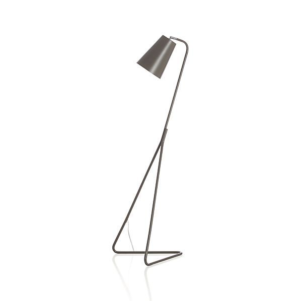 Mick Brindle Floor Lamp - Crate and Barrel 179$ - Mick Brindle Floor Lamp - Crate And Barrel 179$ Lumière