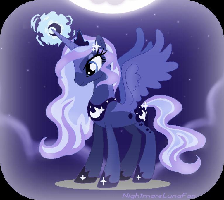Картинки дочка луны