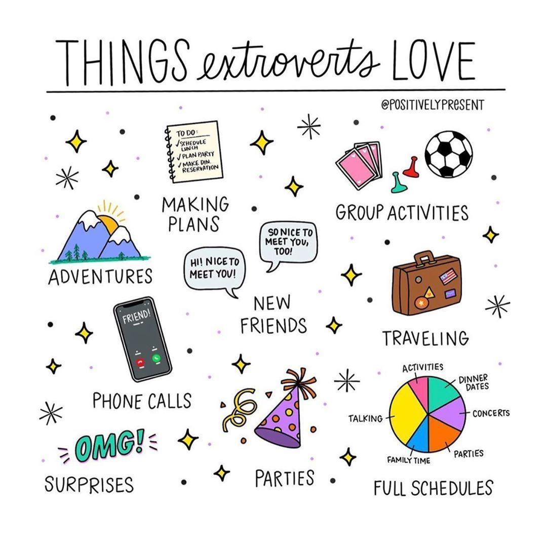 Cute Mental Health Introvert Pin