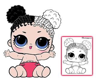 Color Your Favorite Lol Surprise Doll Lol Dolls Coloring Pages Free Coloring Pages