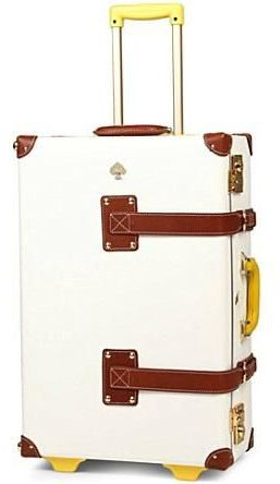 brand new df4e9 58ef4 Kate Spade Rolling Suitcase | Travel | Suitcase, Fashion, Fashion bags