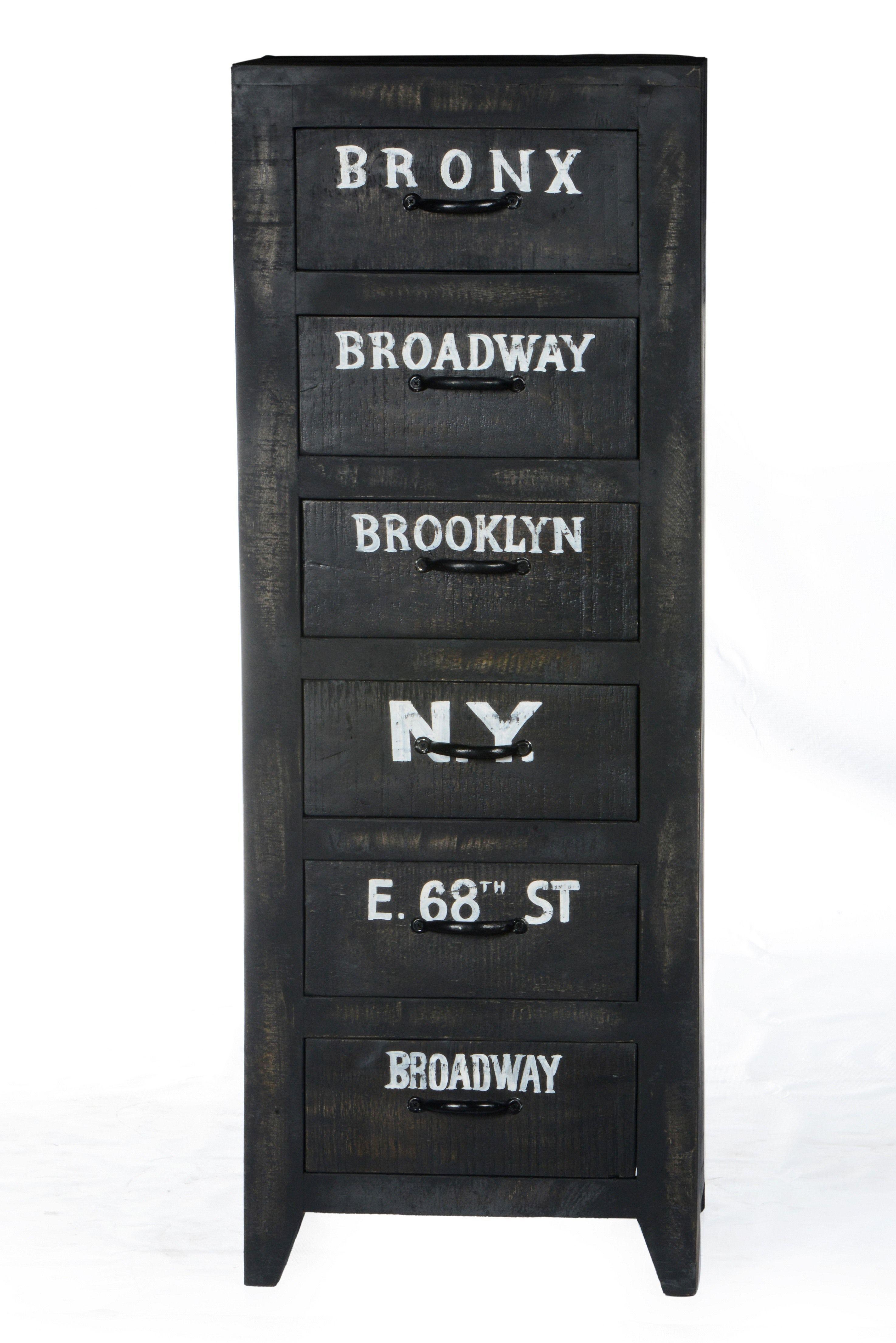 kommode antik schwarz lackiert massiv woody 11 01326 holz vintage jetzt bestellen unter https - Wohnzimmer Kommode Antik