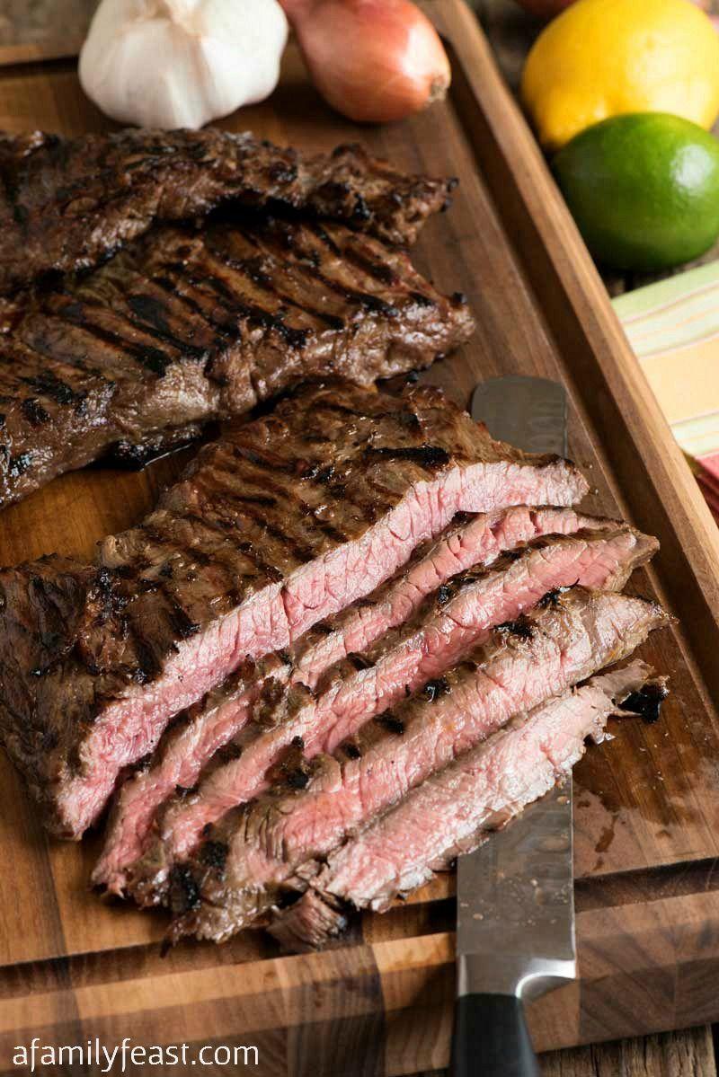 Margarita Skirt Steak Rezept Fleischiges Marinated Steak