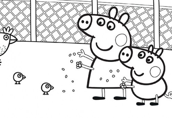 Pin by g orgina kincaid on coloriage p ppa pig pinterest - Coloriages peppa pig ...