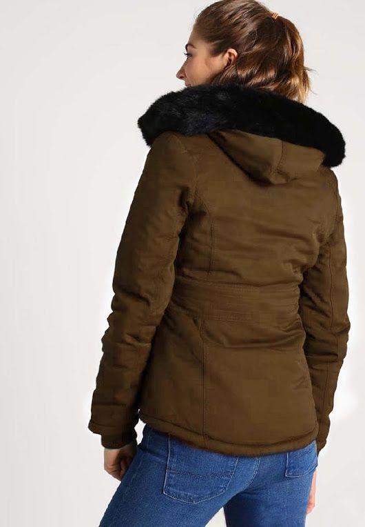 Bench Damen Jacke Jacke Parka Stonesgrip grün (Beetle) X