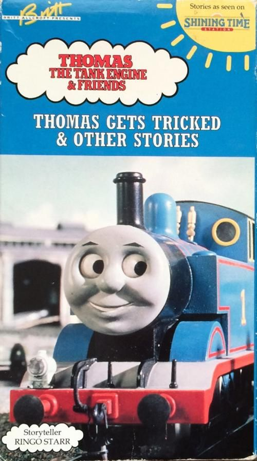 Thomas the Tank Engine: Thomas Gets Tricked #VHS #90s | 80s