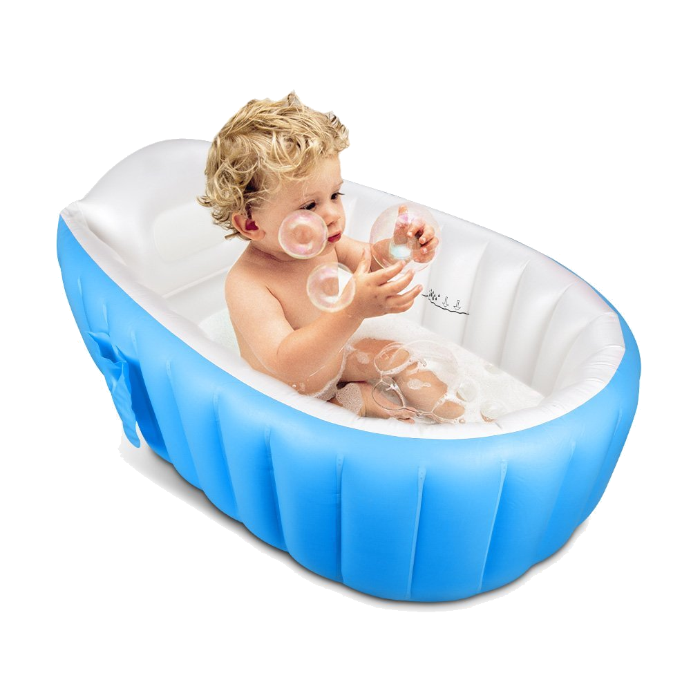 Portable Inflatable Baby Bathtub | Products | Pinterest | Bathtub ...