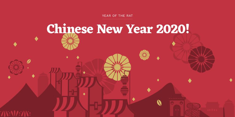 Chinese New Year 2020 Happy New Year 2020 Wishes In Chines Tahun Baru Imlek Kutipan Tahun Baru Latar Belakang Animasi