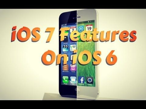 Get iOS 7 Features On iOS 6 iPhone & iPod Touch With These