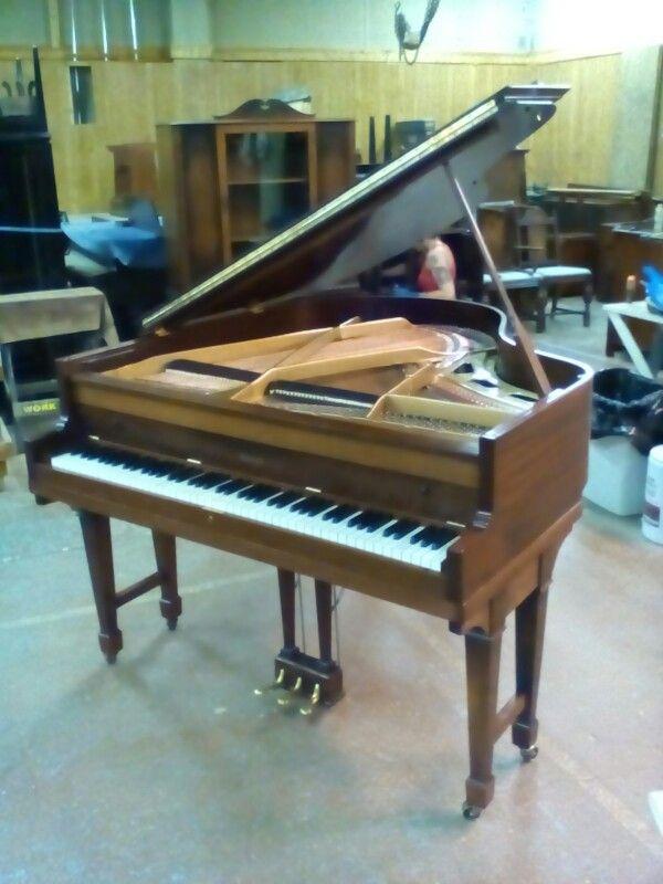Howard Baby Grand Rebuilt By Maresca S Piano Service Piano Refinish Piano Grands