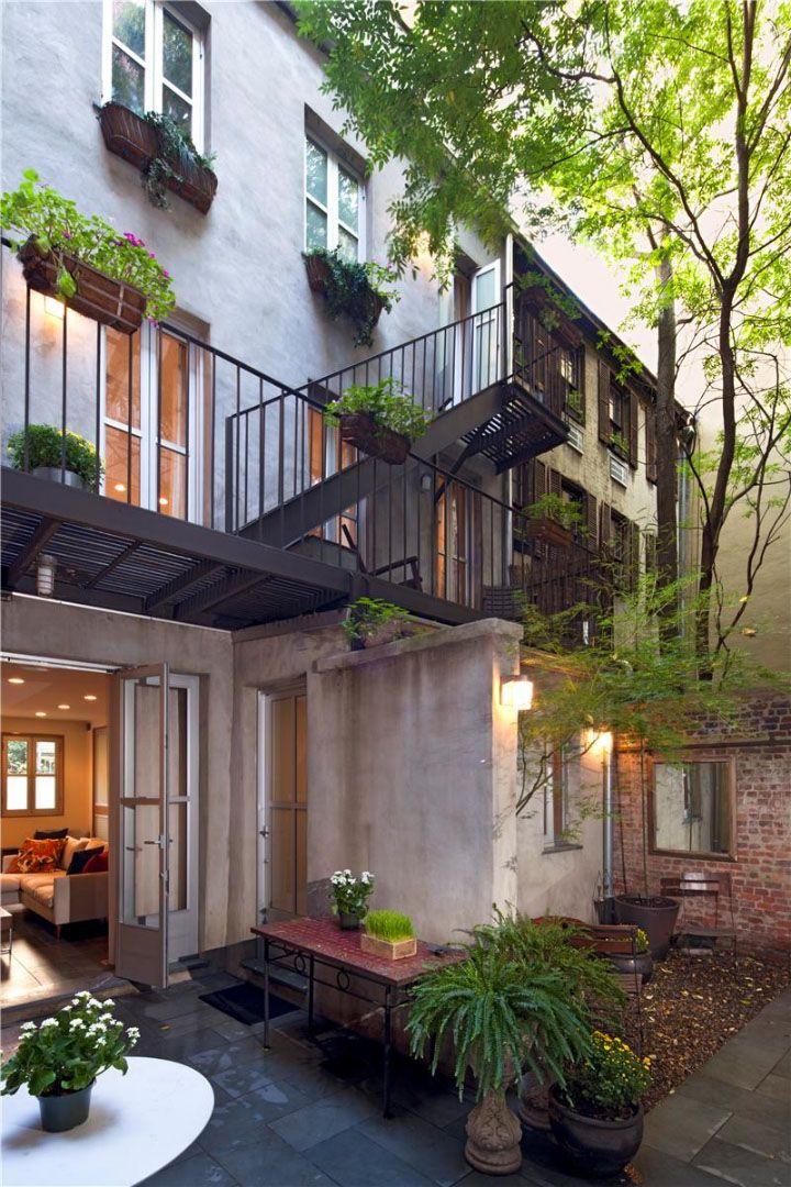 Modern multilevel patio Outdoor Garden Pinterest East