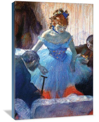 Ballerina Changing - Author: Edgar Degas. Ballerina & Dance