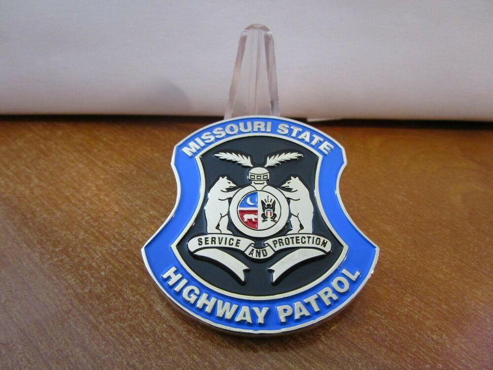 Missouri State Highway Patrol Challenge Coin 775g Challenge Coins Police Challenge Coins Missouri State