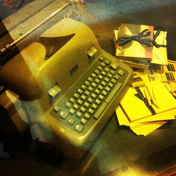Hace muchos años, la tecnología del escritor era esto.