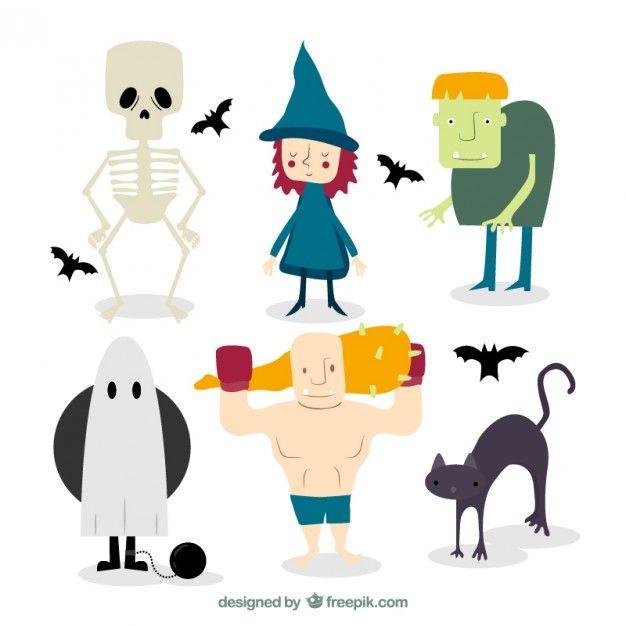 Personajes de #Halloween