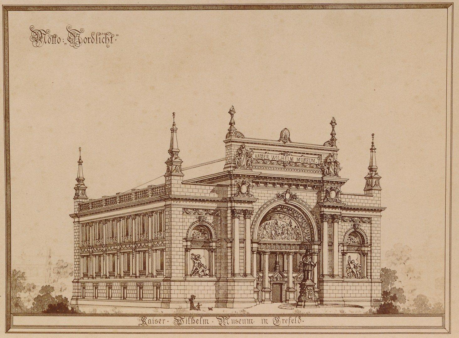 Architekt Speyer oder für den neubau des kaiser wilhelm museums in krefeld franz