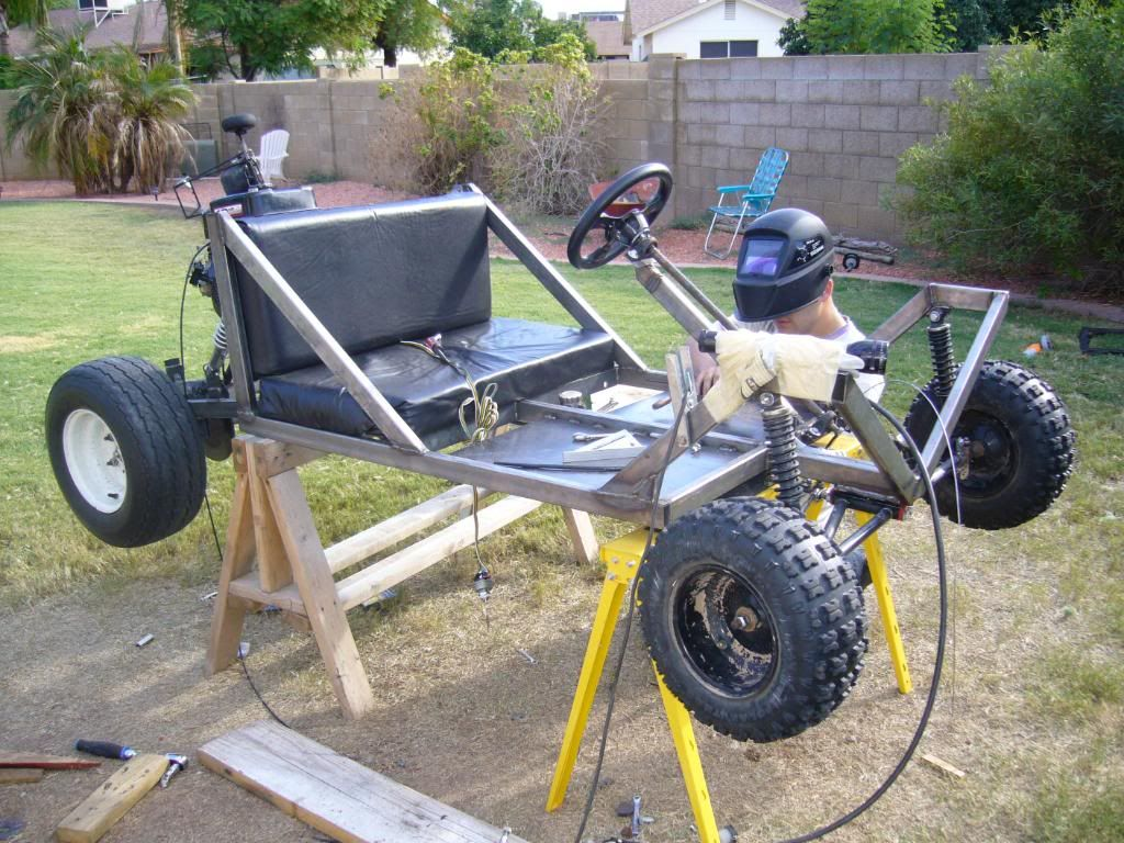 DIY Go Kart Cart Home made Welded image by diywp - Photobucket | DIY ...