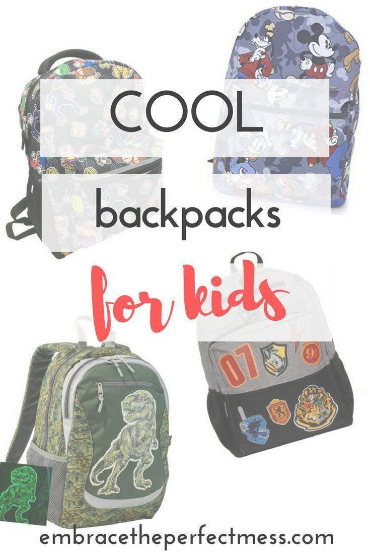 cool backpacks for kids   Homeschooling Fun   Pinterest   Kids ... 252f5fd879