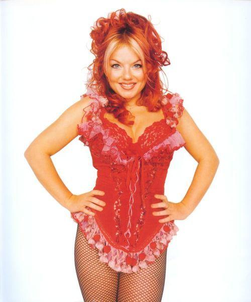 Geri Halliwell~Ginger Spice