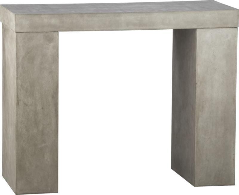 element console table   CB2 - similar to the one at C& B but at half ...