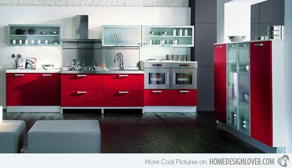 15 Stunning Red Kitchen Ideas