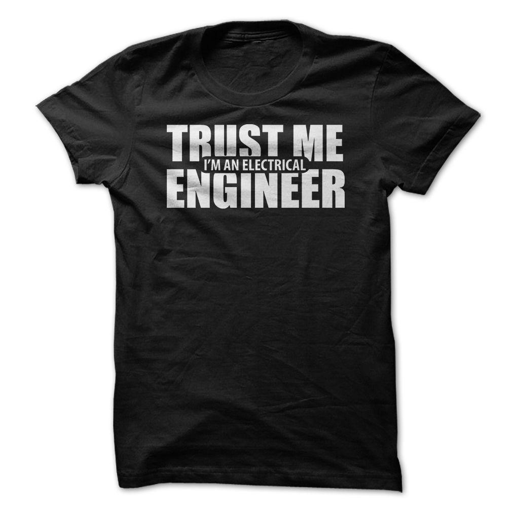 Cool Tshirt (Tshirt Design) Trust Me Im an Electrical