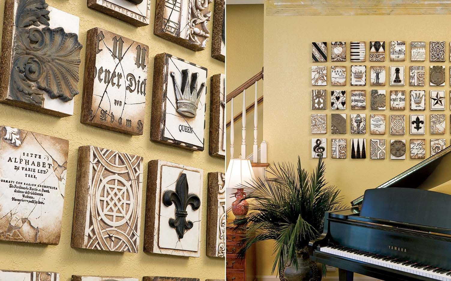 Gracious Groupings: Tips for Decorating Halls and Walls | Home Decor ...